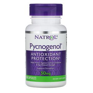 Нэтрол, Pycnogenol, 50 mg , 60 Capsules отзывы