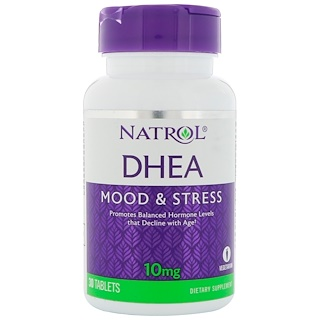 Natrol, DHEA, 10 mg, 30 Tablets