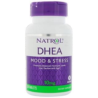 Natrol, DHEA، مقدار 10 ملغ، 30 قرص