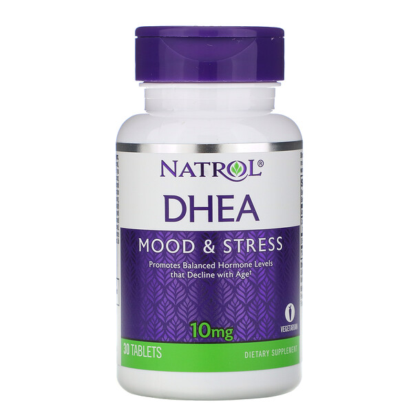 DHEA, 10 mg, 30 Tablets