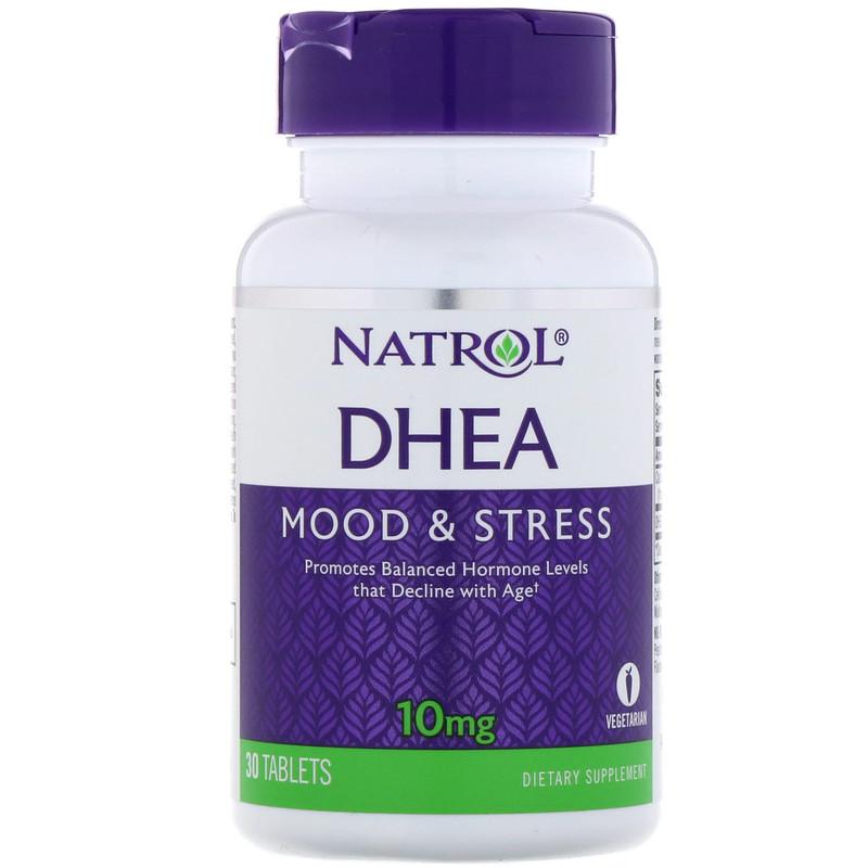 Natrol, DHEA,10 毫克,30 片