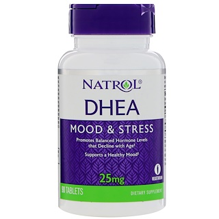 Natrol, ديهيدرو ايبي آندروستيرون، 25 ملغم، 90 حبة