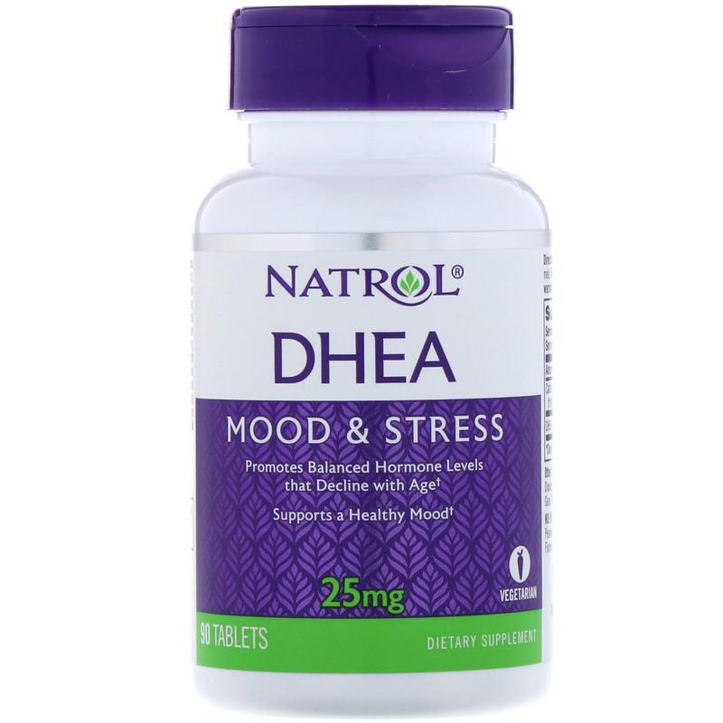 DHEA, 25 mg, 90 Tablets