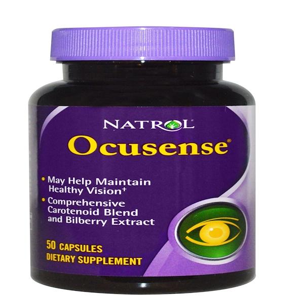 Natrol, OcuSense, 50 Capsules (Discontinued Item)