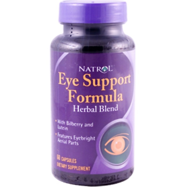 Natrol, Eye Support Formula, 60 Capsules (Discontinued Item)