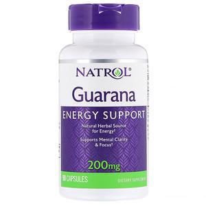 Нэтрол, Guarana, 200 mg, 90 Capsules отзывы покупателей