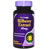 Natrol, Bilberry Extract, 40 mg, 60 Capsules (Discontinued Item)