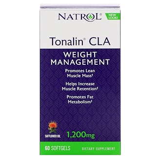 Natrol, Tonalin CLA, 1,200 mg, 60 Softgels