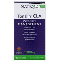 Tonalin CLA, с сафлоровым маслом, 1200мг, 90мягких таблеток - фото