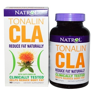 Natrol, Tonalin CLA with Safflower Oil, 90 Softgels