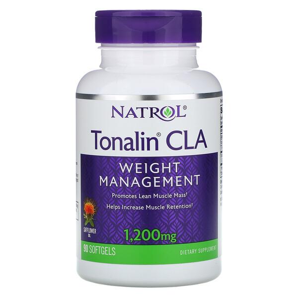 Tonalin®(トナリン)共役リノール酸、1200mg、ソフトジェル90粒