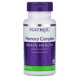 Нэтрол, Memory Complex, 60 Tablets отзывы покупателей