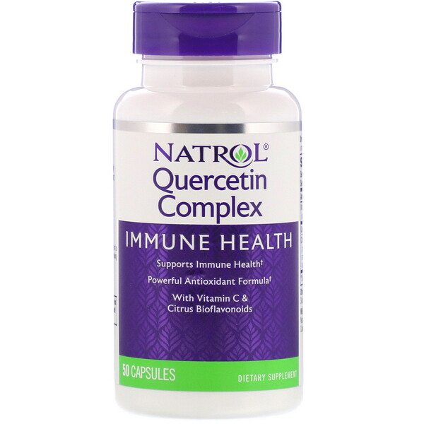 Natrol, Quercetin Complex, 50 Capsules