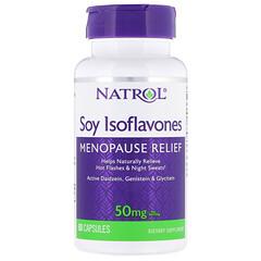 Natrol, 大豆異黃酮,10 毫克,60 粒膠囊