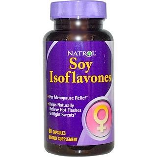 Natrol, Soy Isoflavones, 60 Capsules