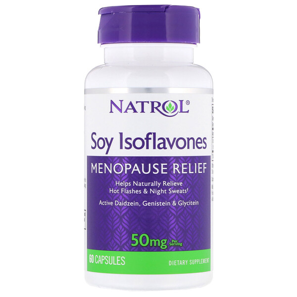 Soy Isoflavones, 50 mg , 60 Capsules