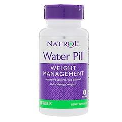 Natrol, ウォーターピル、60タブレット