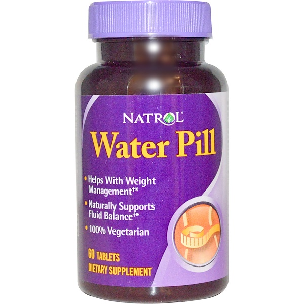 Natrol, Water Pill, 60 Tablets