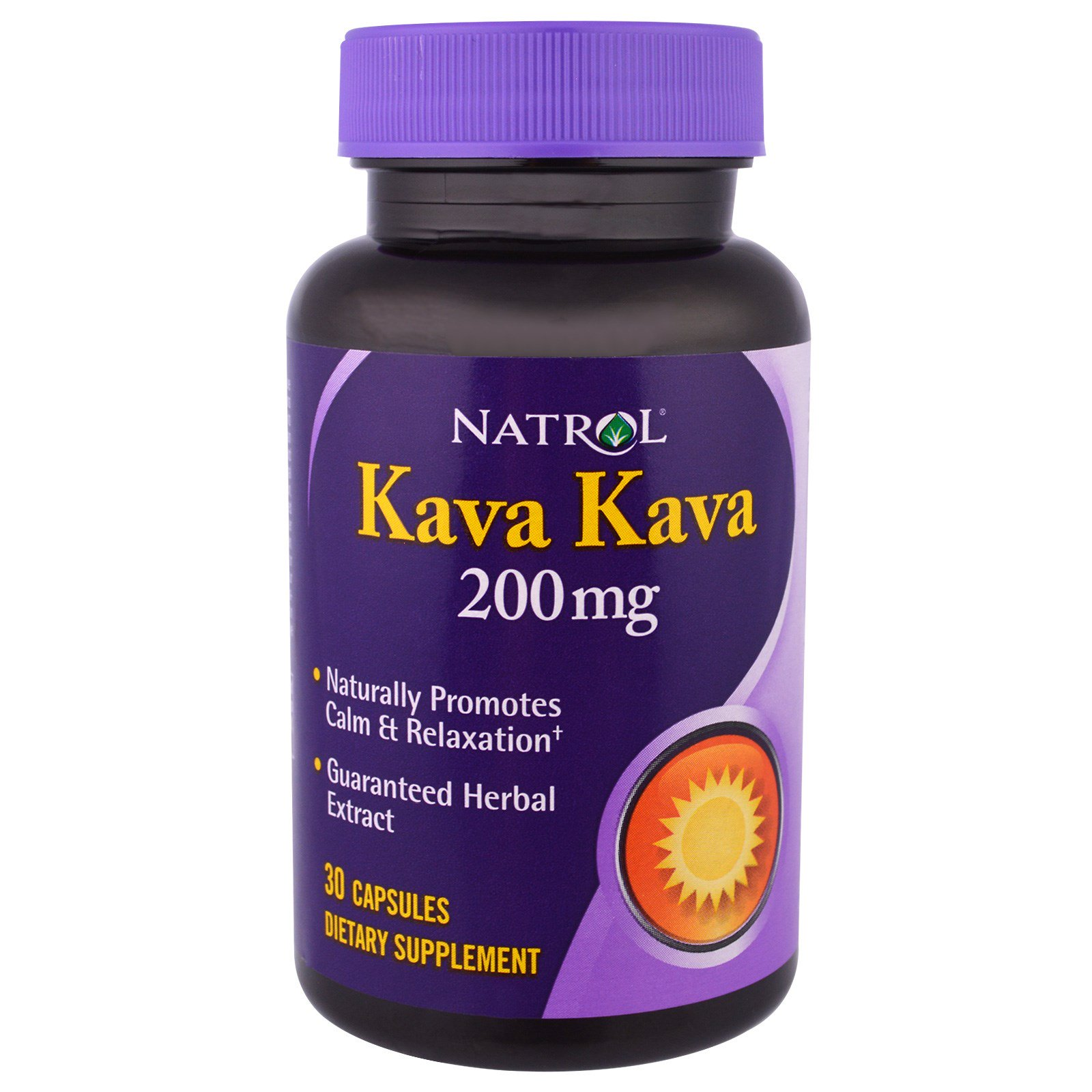 Natrol, Кава-кава, 200 мг, 30 капсул