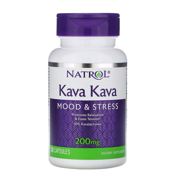 Kava Kava, 200 mg, 30 comprimés