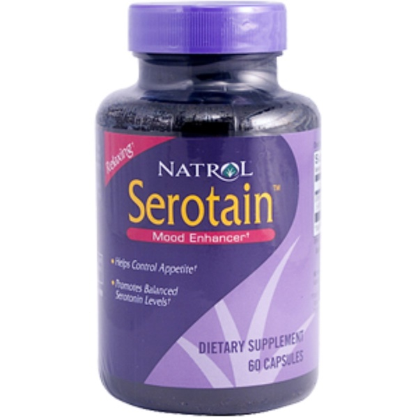 Natrol, Serotain, 60 Capsules (Discontinued Item)