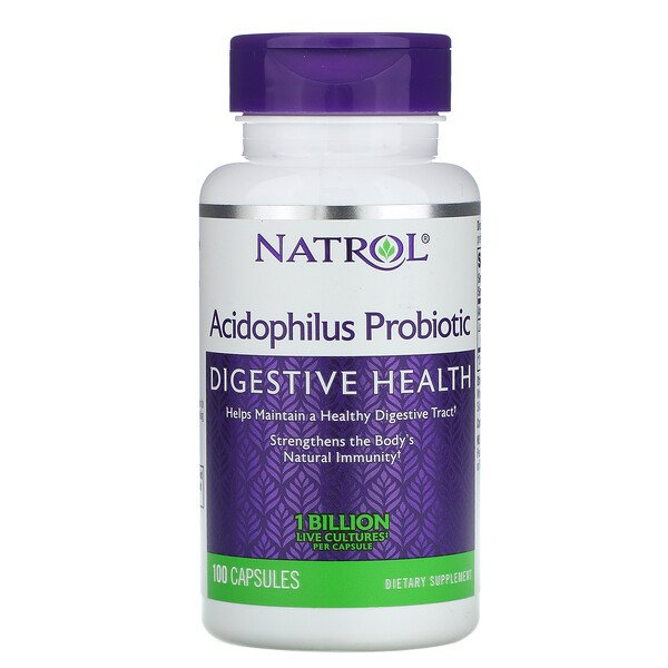 Acidophilus Probiotic, 1 Billion, 100 Capsules
