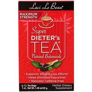 Нэтрол, Laci Le Beau, Super Dieter's Tea, Natural Botanicals, 12 Tea Bags, 1.46 oz (42 g) отзывы покупателей
