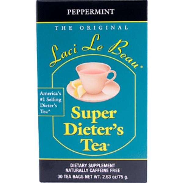Natrol, Laci Le Beau, Super Dieter's Tea Cleanse, Peppermint, 30 Tea Bags, 2.63 oz (75 g)
