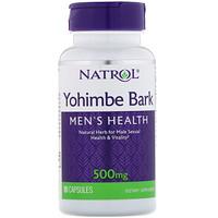 Кора йохимбе, 500 мг, 90 капсул - фото