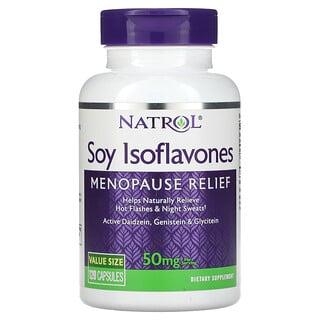 Natrol, Soy Isoflavones, 10 mg, 120 Capsules