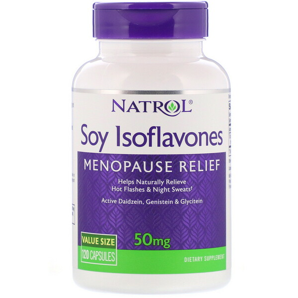 Soy Isoflavones, 50 mg, 120 Capsules