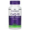Natrol, CoQ-10, 200mg, 소프트젤 45정