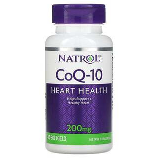 Natrol, CoQ-10, 200 mg, 45 Softgels