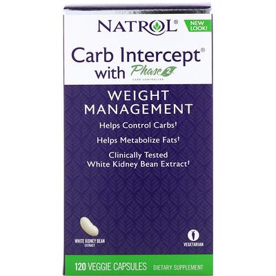 Carb Intercept с Phase 2 Controller, 120 растительных капсул