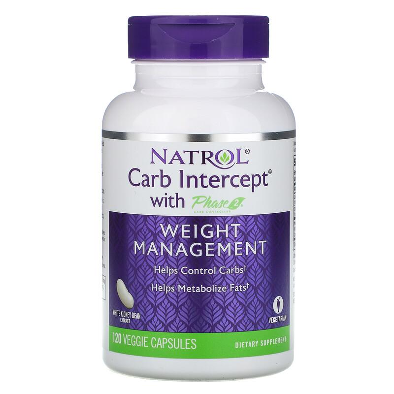 Natrol, 第二代澱粉中和阻斷劑控制劑,1,000 毫克,120 粒植物膠囊