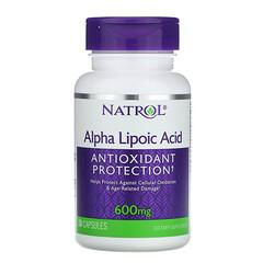 Natrol, 硫辛酸膠囊,600毫克,30粒