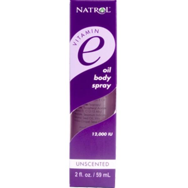 Natrol, Vitamin E Oil Body Spray, 2 fl oz (59 ml) (Discontinued Item)