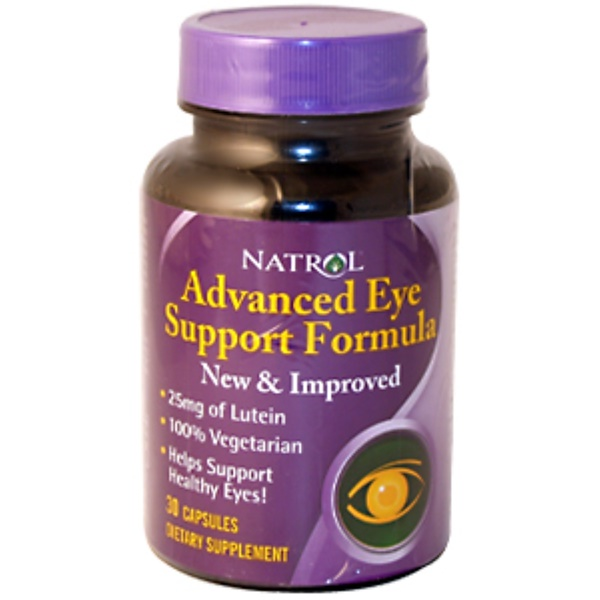 Natrol, Advanced Eye Support Formula, 30 Capsules (Discontinued Item)