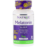 Отзывы о Natrol, Мелатонин, медленное высвобождение, с повышенной силой действия, 5мг, 100таблеток