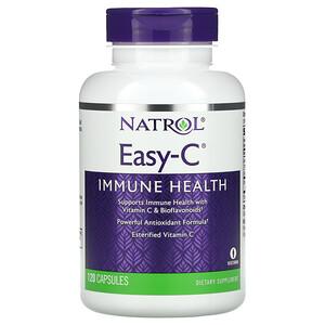 Natrol, Easy-C, Immune Health, 120 Capsules