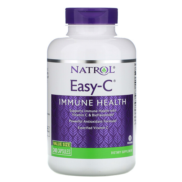 Natrol, Easy-C, 240 Capsules