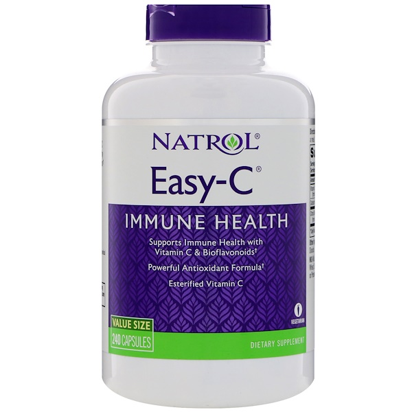 Natrol, Easy-C,240 粒膠囊