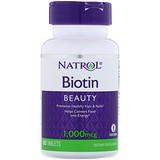 Отзывы о Natrol, Биотин, 1000мкг, 100таблеток