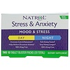 Natrol, Stress & Anxiety, Day & Night, 10 Tablet Blister Packs Each