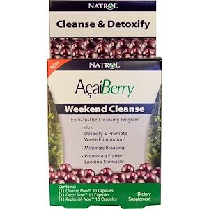 Нэтрол, AcaiBerry, Weekend Cleanse, 3 Part Program отзывы
