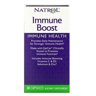 Natrol, 免疫加強,30 粒
