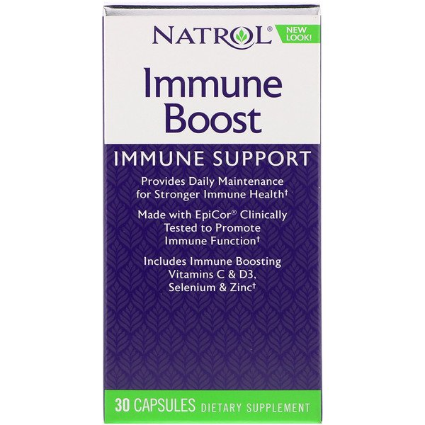 Natrol, Immune Boost, 30 Capsules (Discontinued Item)