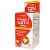 Natrol, Omega-3 Krill Oil, Lemon, 1000 mg, 30 Softgels (Discontinued Item)