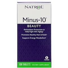 Natrol, Minus-10, 120 tabletas