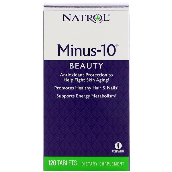 Natrol, Minus-10,120片